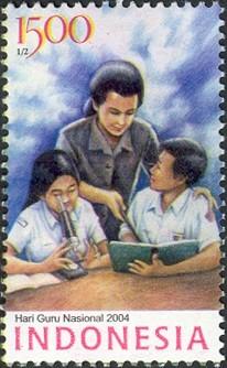 perangko indonesia