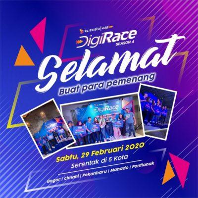XLAxiataDigiraceSeason 4, XlAxiataDigirace2020, Pariwisata Indonesia