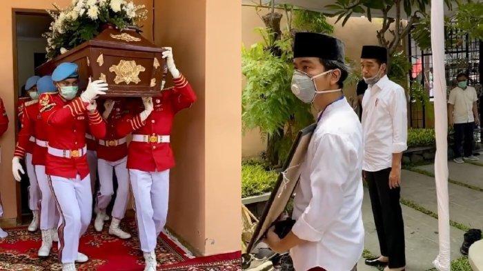 Pemakaman Ibunda Presiden