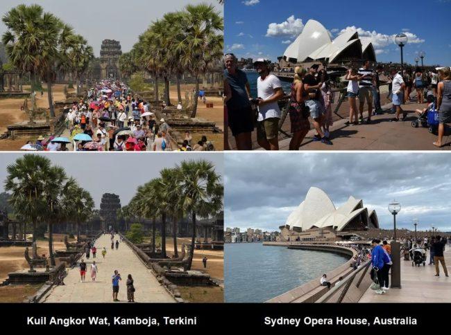 Pariwisata Dunia Sebelum dan Saat Corona