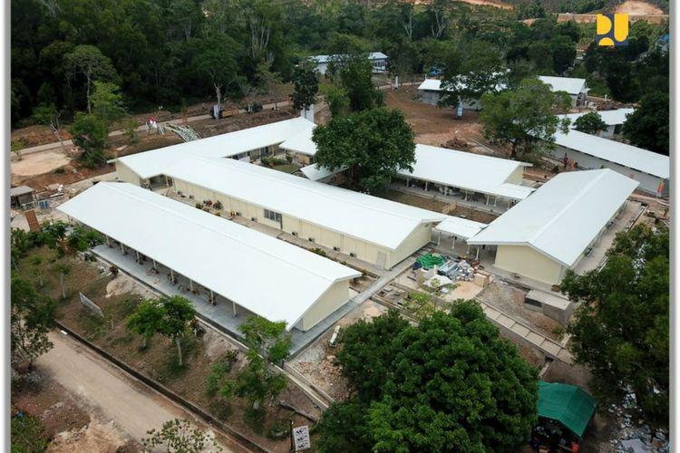 Foto: Humas Kementerian PUPR/RS Darurat Covid-19 Pulau Galang, Batam