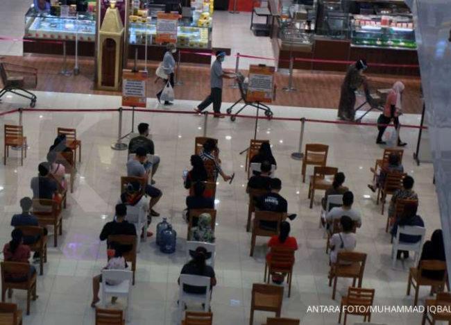 Pariwisata Indonesia, Protokol Kesehatan di Mal Social Distancing