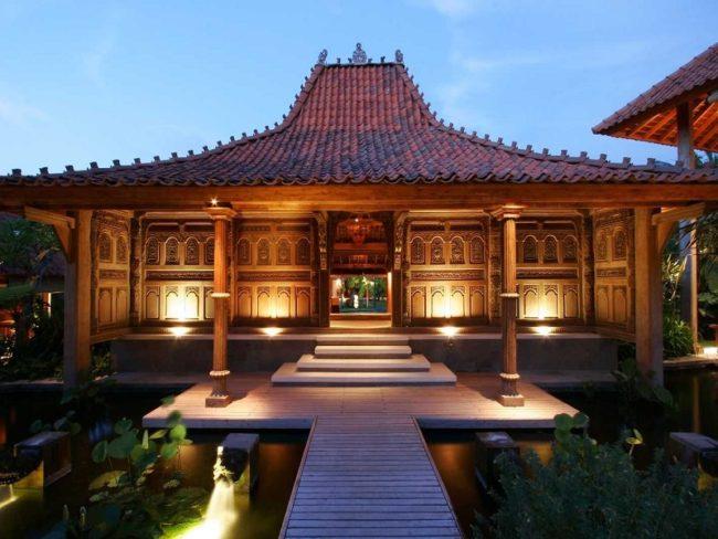 Rumah Adat Joglo,Jawa Tengah