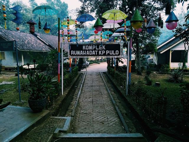 Kampung Pulo, pariwisata Indonesia