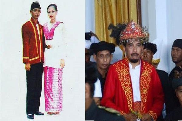 Baju Adat Sultan, Maluku Utara