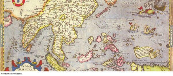 Peta Kepulauan Indonesia Zaman Majapahit