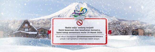 Trans World Snow Bintaro, Pariwisata Indonesia