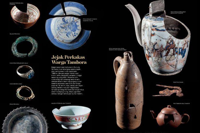 Pariwisata Indonesia, Artefak yang ditemukan