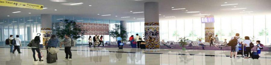 Pariwisata Indonesia, Bandar Udara Syamsudin Noor