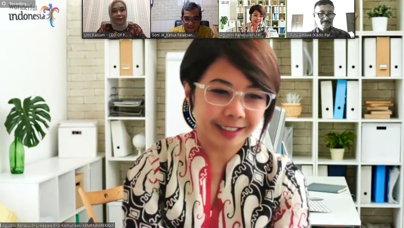 Agustini Rahayu, Kepala Biro Komunikasi Kementerian Pariwisata dan Ekonomi Kreatif/Badan Pariwisata dan Ekonomi Kreatif, Agustini Rahayu Kepala Biro Komunikasi Kementerian Pariwisata dan Ekonomi Kreatif/Badan Pariwisata dan Ekonomi Kreatif, Bali Destinasi Dunia Terfavorit Tahun 2020, Berita Kemenparekraf, Berita Presiden Joko Widodo, Berita PVK Award 2020, Indonesia Maju, Media Online Pariwisata Indonesia Terfavorit 2020, Media PVK Grup, PT Prima Visi Kreasindo, PVK Award, PVK Award 2020, Situs Pariwisata Indonesia, Situs Pariwisata Indonesia Terfavorit 2020, Umi Kalsum Founder PVK Grup dan CEO Media PVK Grup, Website Pariwisata Indonesia Terfavorit 2020, Warta Wisata, Indonesia's Official Tourism Website, Website Resmi Pariwisata Indonesia, Halo Indonesia, Indonesia Travel Official, pariwisata indonesia bangkit